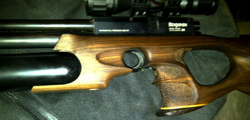 Benjamin Marauder PCP Pistol Modifications ~ Air Rifle SA Forums