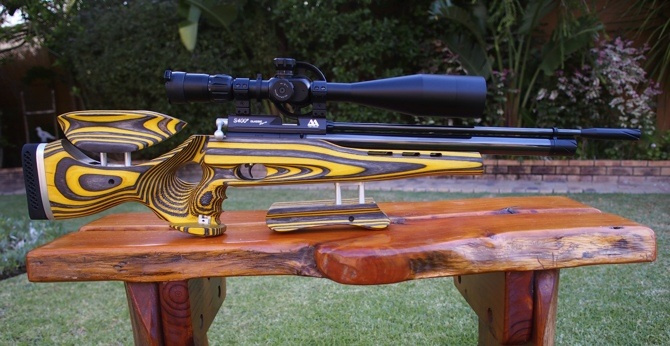 Custom Airgun Stocks