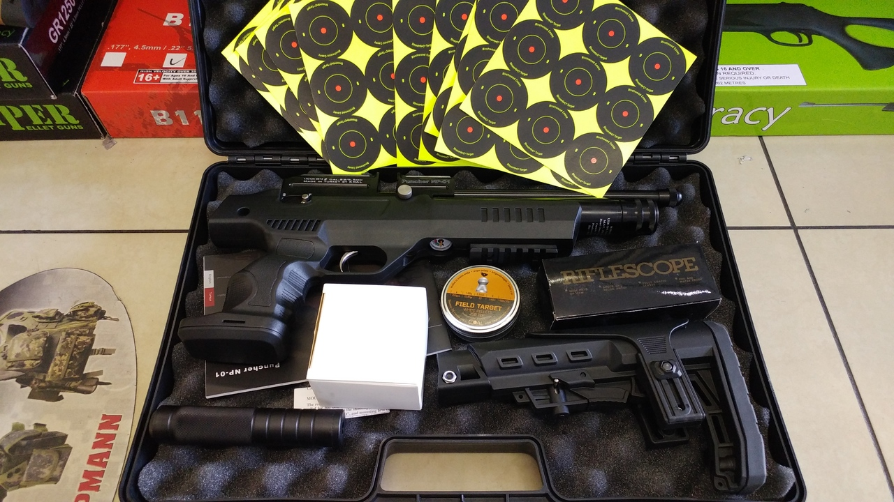 EXPIRED] KRAL NP-01 (PUNCHER PCP PISTOL) ~ Air Rifle SA Forums