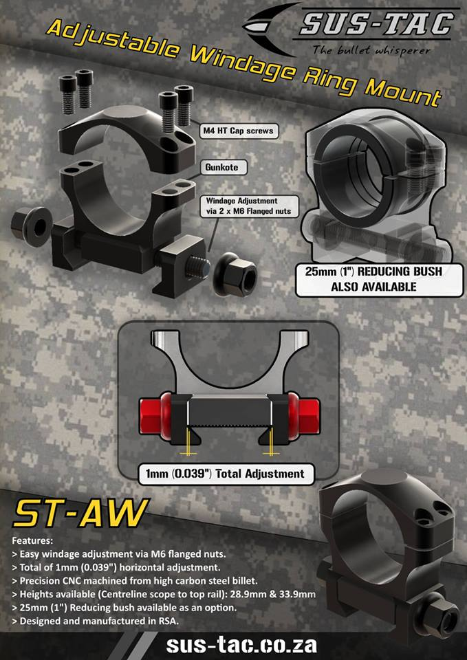 SUS-TAC ST-AW Scope Mounts