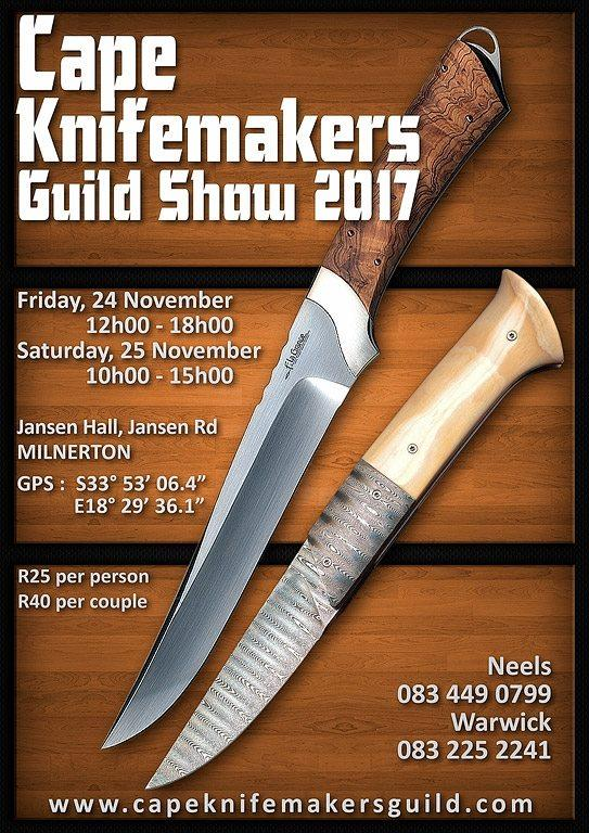 Cape Knifemakers Guild Show 2017