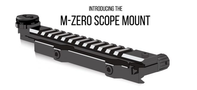 Mod Zero Adjustable Picatinny Scope Mount